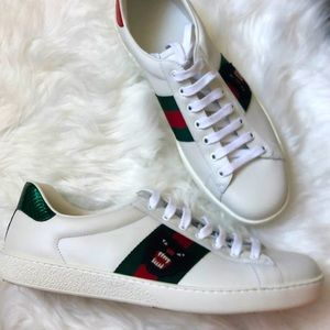 🆕 💯%Auth Gucci Sneakers Ace Gucci 11/ US12